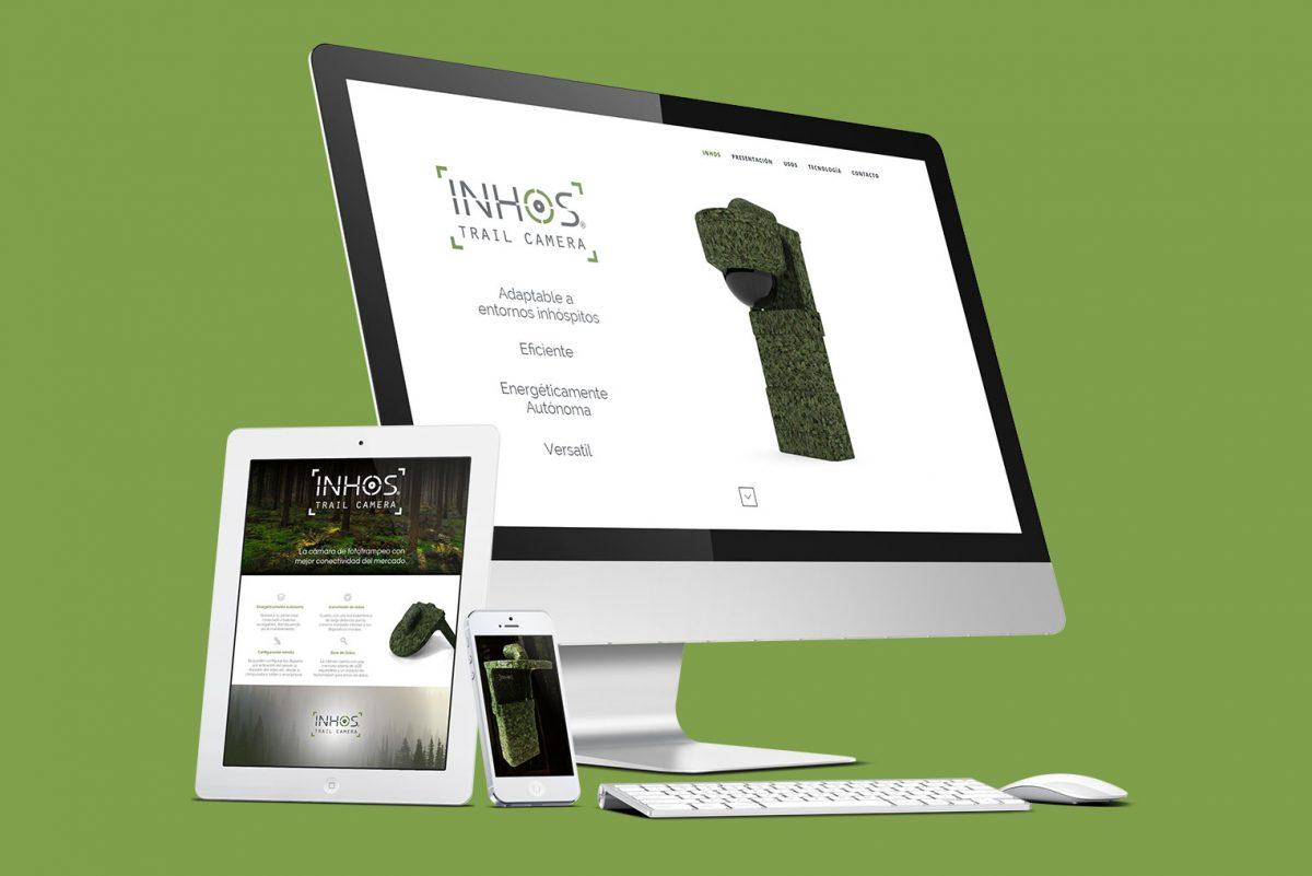 Sitio web Desarrollamos el sitio web en base a las necesidades del cliente con una interfaz sencilla y moderna.