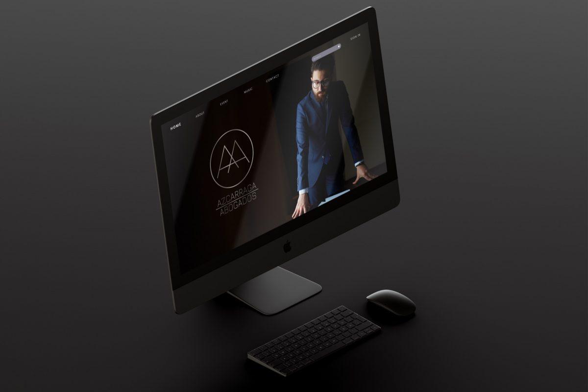 Sitio web La marca refleja en cada elemento su seriedad y compromiso con el cliente.