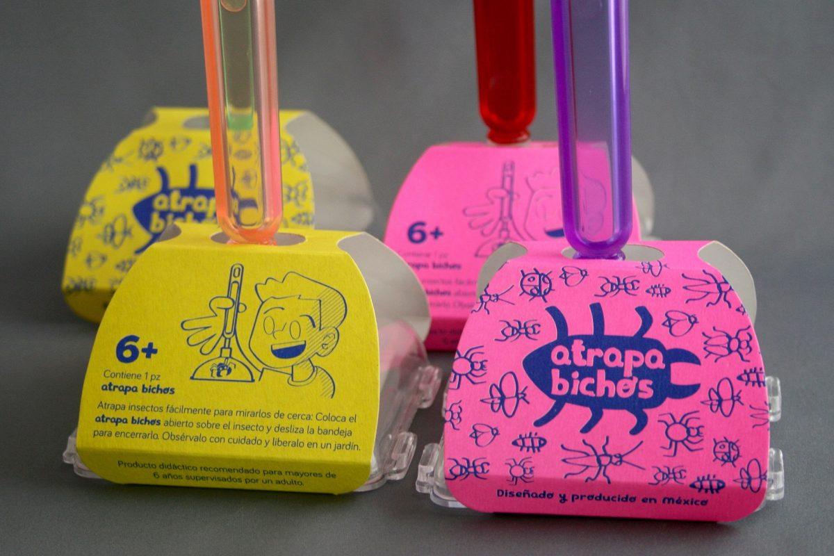Producto para niños Hicimos ilustraciones y usamos colores llamativos para hacer el producto más atractivo al mercado infantil.